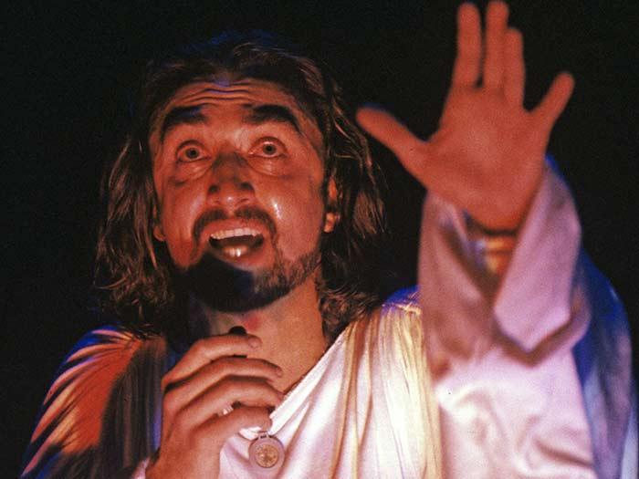 Олег Казанчеев в рок опере Иисус Христос суперзвезда