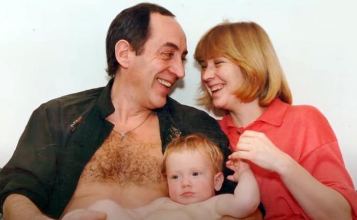 Олег Шкловский с женой Натальей