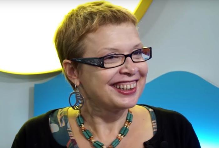 телеведущая Ольга Бакушинская