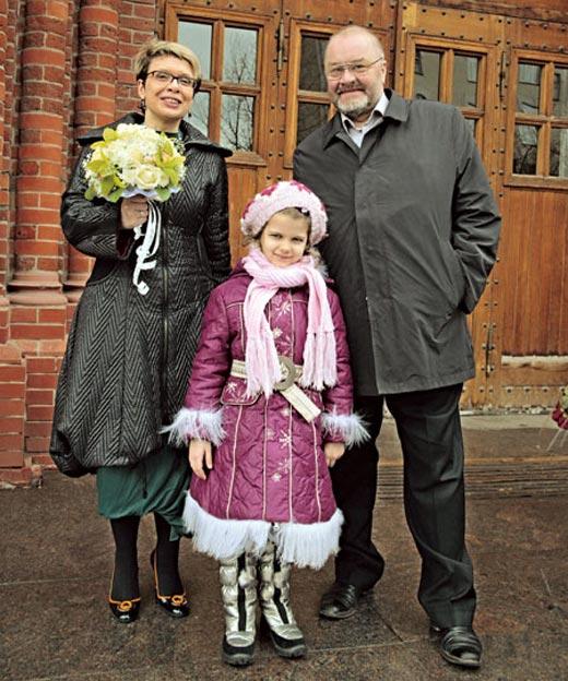 Ольга Бакушинская муж Андрей Разумовский дочь Маша