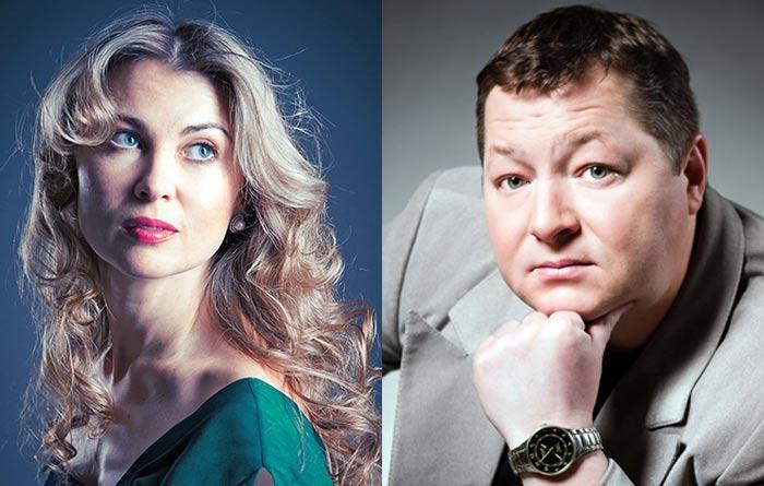Ольга Бранкевич и муж Александр Бранкевич
