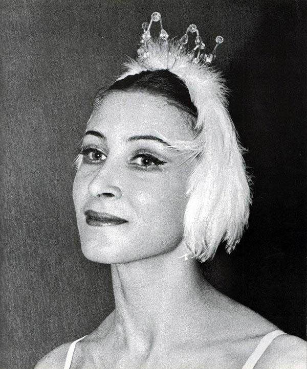 Ольга Ченчикова в молодости
