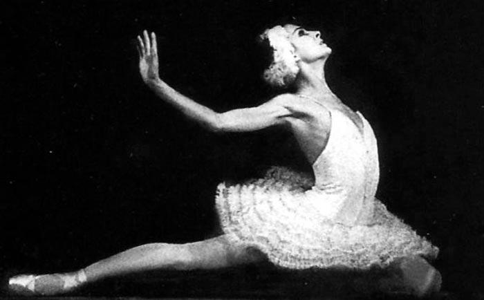 балерина Ольга Ченчикова