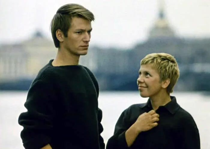 Ольга Калмыкова и Аристарх Ливанов