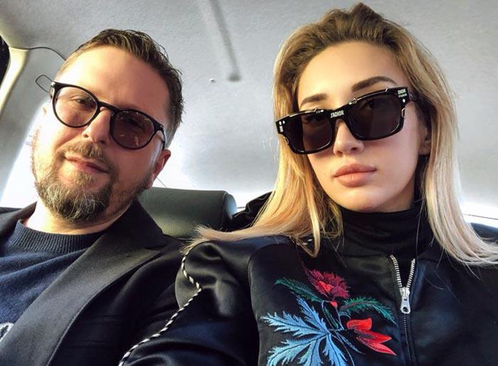 Ольга Шарий и муж Анатолий Шарий