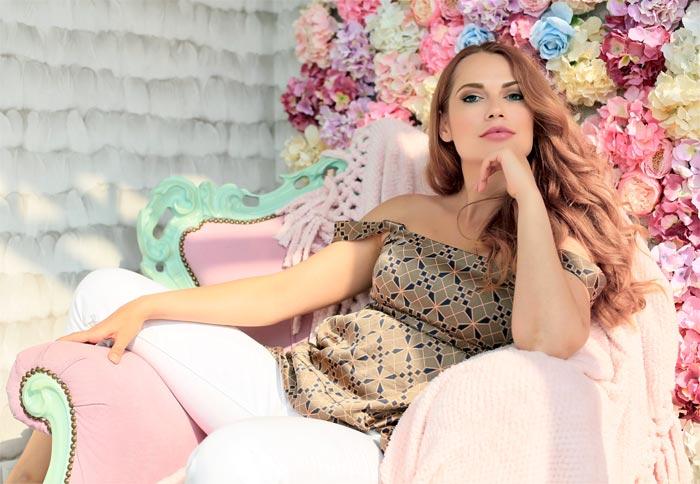 украинская актриса Ольга Кияшко