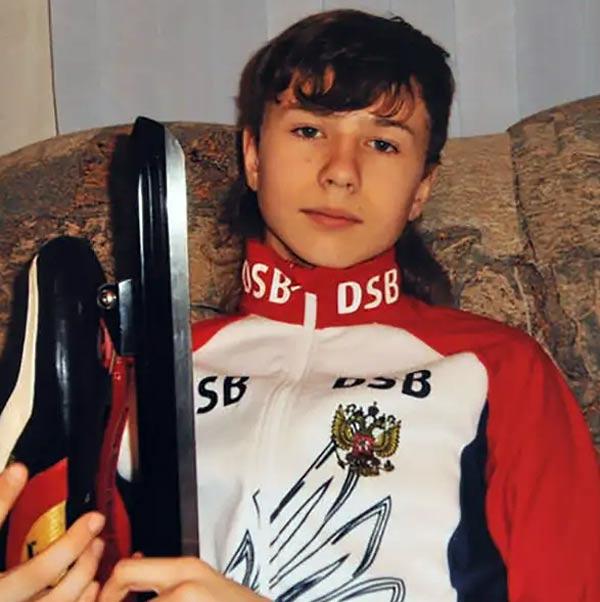 Павел Кулижников в детстве
