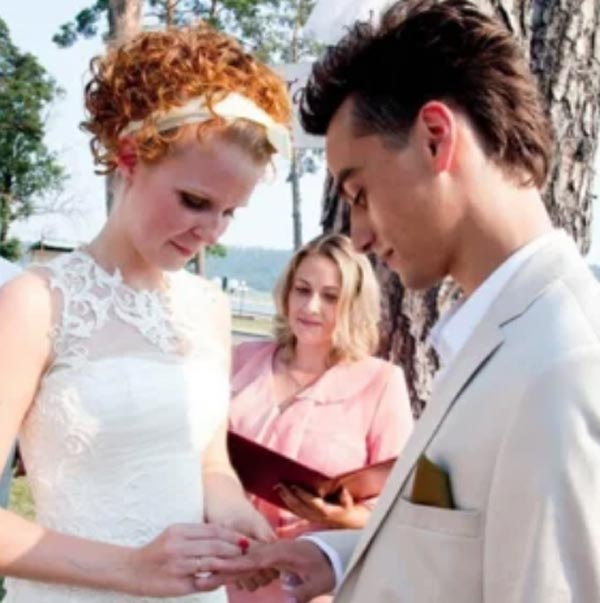 Свадьба Павла Занозина и Влады