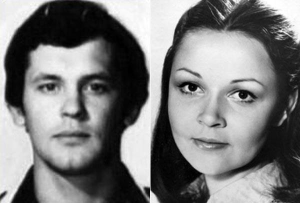 Петр Смидович и Ирина Акулова