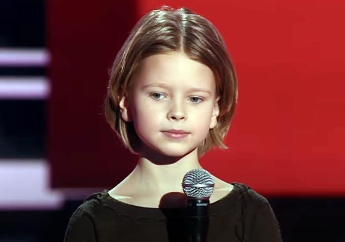 Андрей Аверин в шоу Голос Дети