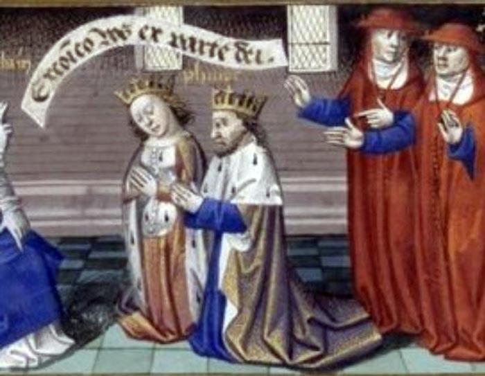 Филипп I и Бертрада де Монфор