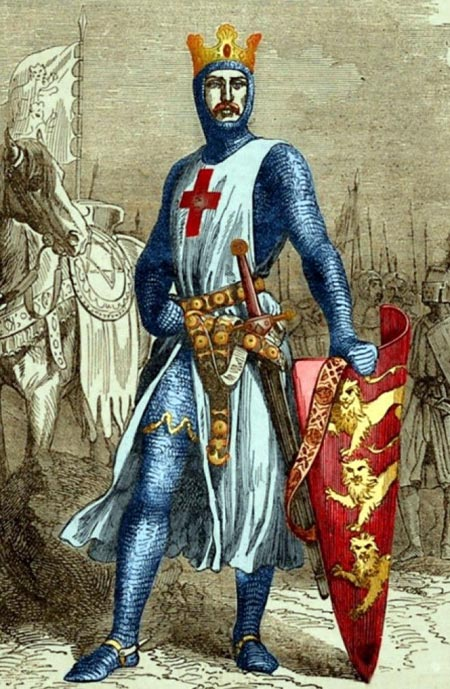 Король Англии Ричард I Львиное Сердце