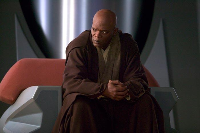 Сэмюэл Л Джексон Звездные войны I Скрытая угроза