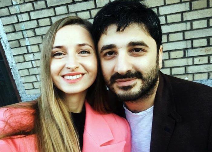 Сарик Андреасян и бывшая жена Алена Тимченко