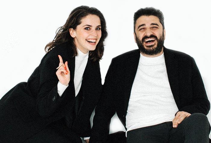 Сарик Андреасян и Елизавета Моряк