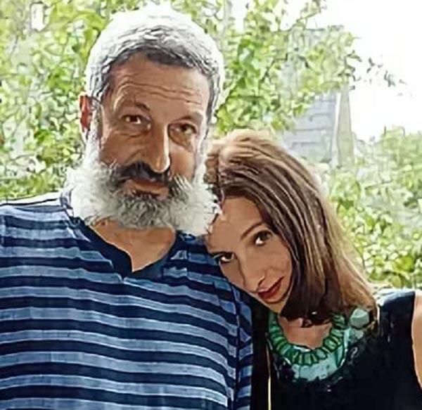 Сергей Цигаль и дочь Мариэтта