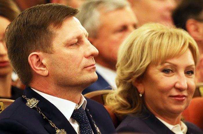 Сергей Фургал и жена Лариса Стародубова