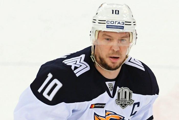 российский хоккеист Сергей Мозякин