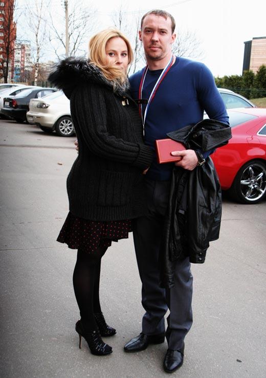 Сергей Мозякин и жена Юлия