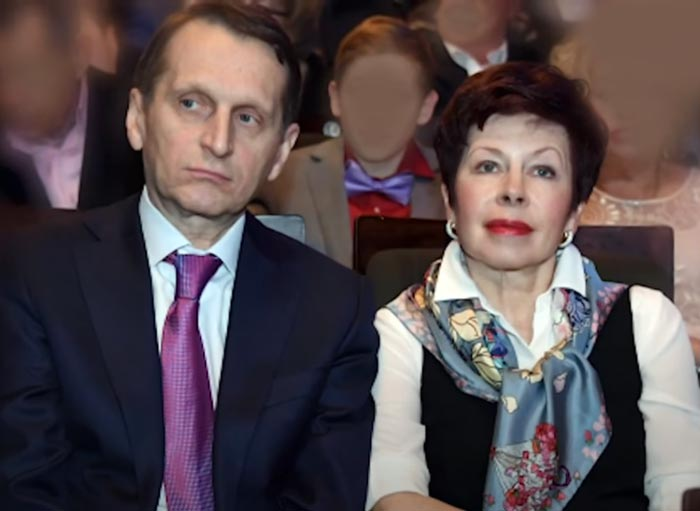 Сергей Нарышкин и жена Татьяна