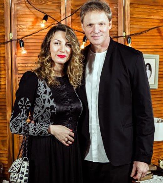 Сергей Писаренко и жена Марина