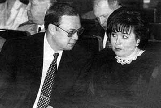 Сергей Степашин и жена Тамара