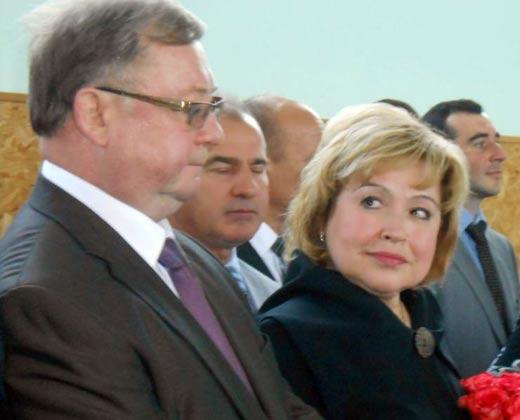 Сергей Степашин и жена Тамара Степашина