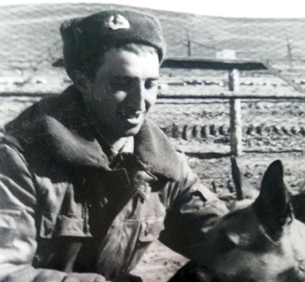 Сергей Степин во время службы в армии