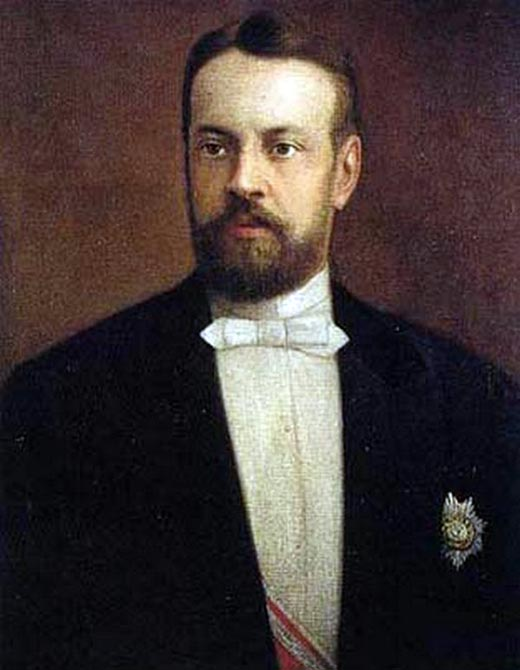 Сергей Витте в молодости
