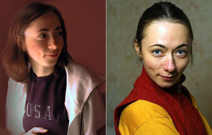 Софья Кругликова в молодости