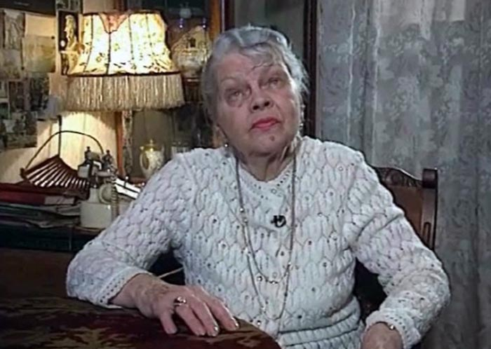 Светлана Баталова в старости