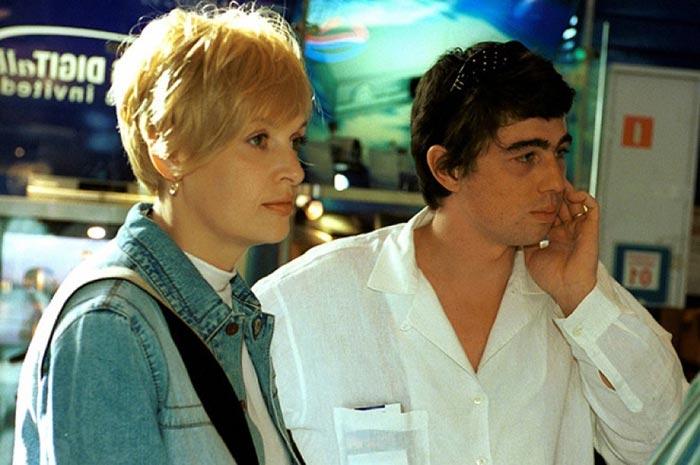 Светлана Бодрова и Сергей Бодров младший