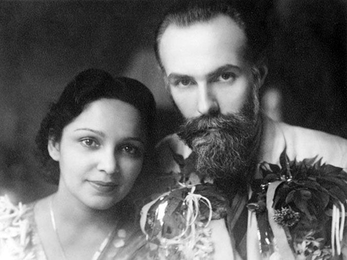 Святослав Рерих и Девика Рани