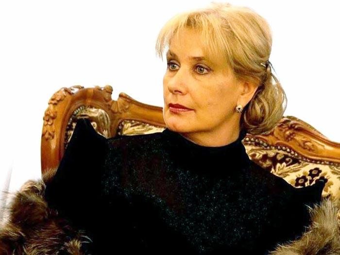 актриса Татьяна Бурнакина