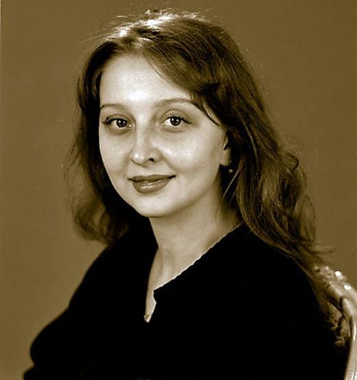 Татьяна Скиба в молодости