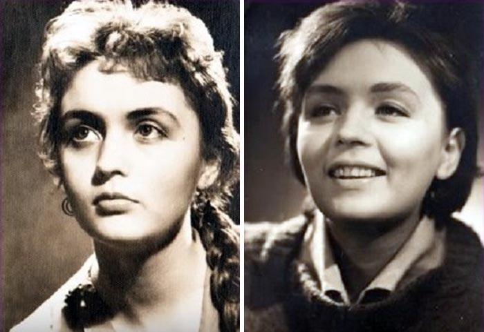 Татьяна Власова в молодости
