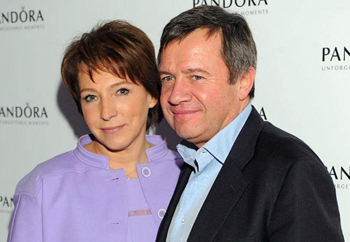Татьяна Юмашева и Валентин Юмашев