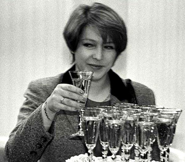 Татьяна Юмашева в молодости