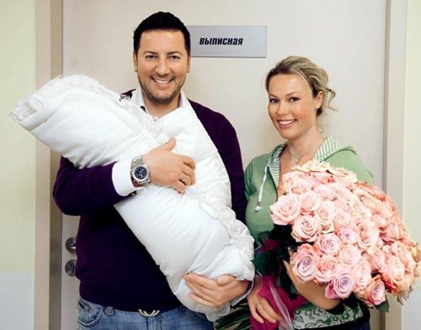 Екатерина Коновалова с мужем Дмитрием