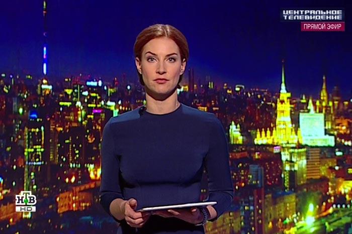 телеведущая Елена Спиридонова