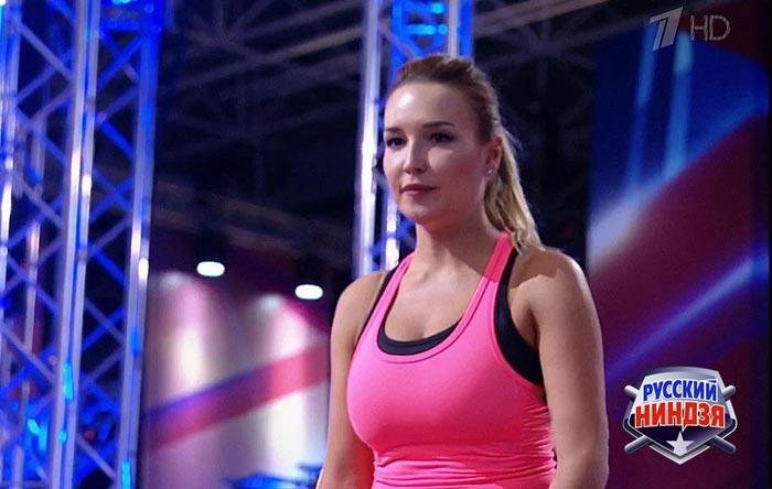 Мария Васильева в шоу Русский ниндзя