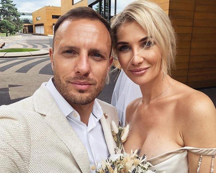 Тимур Соловьев и жена Анна Башмет