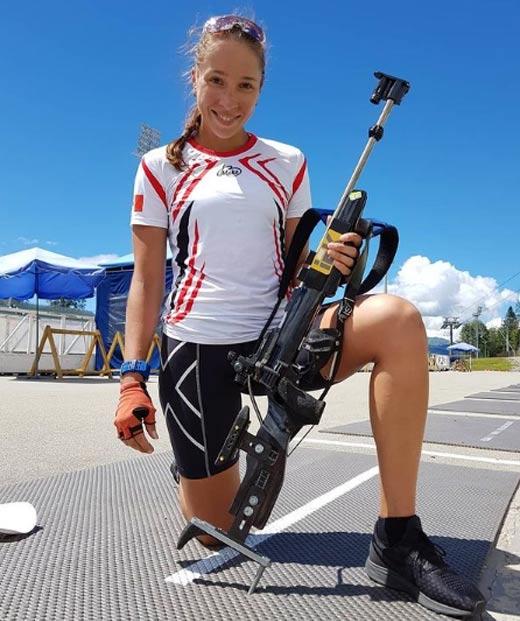 Ульяна Кайшева летний биатлон