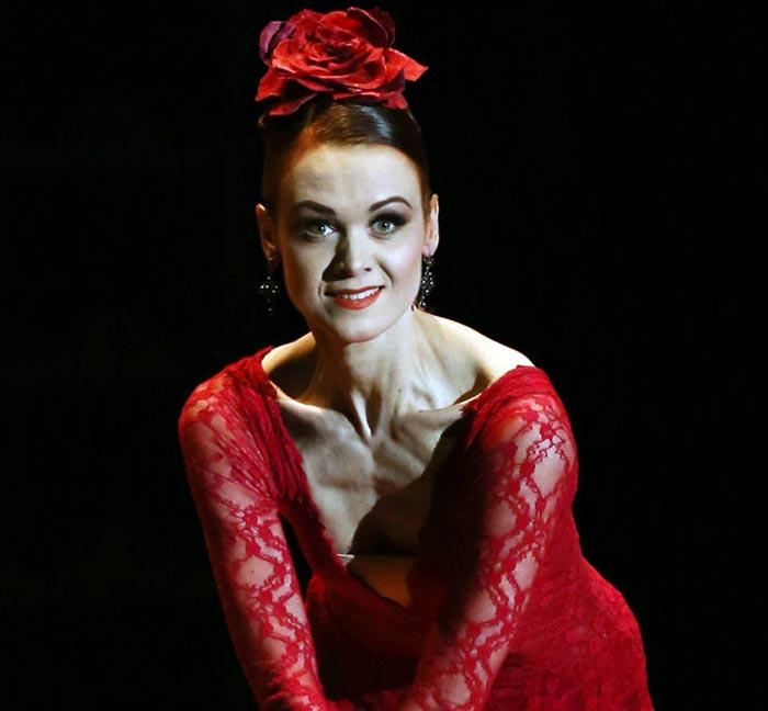 балерина Ульяна Лопаткина