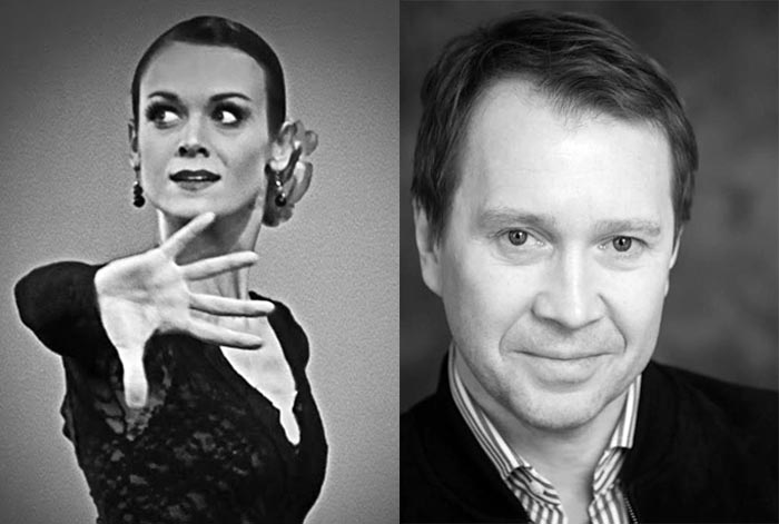 Ульяна Лопаткина и Евгений Миронов