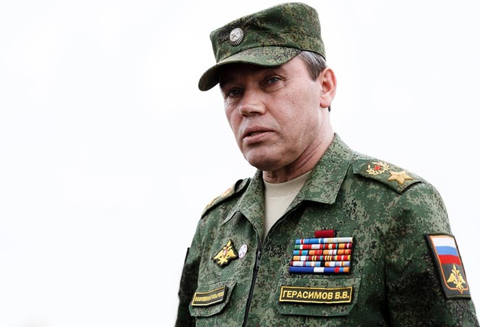 начальник Генерального штаба Вооружённых сил Валерий Герасимов