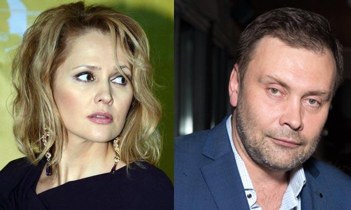 Валерия Арланова и первый муж Сергей Арланов