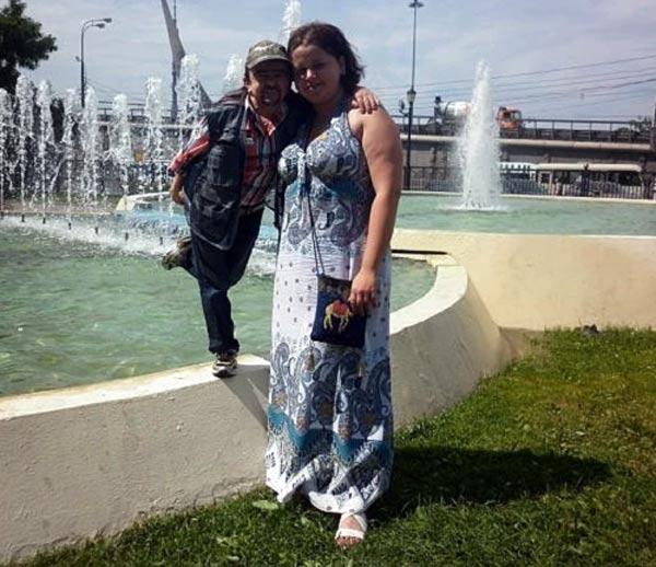 Вано Миранян и жена Кристина