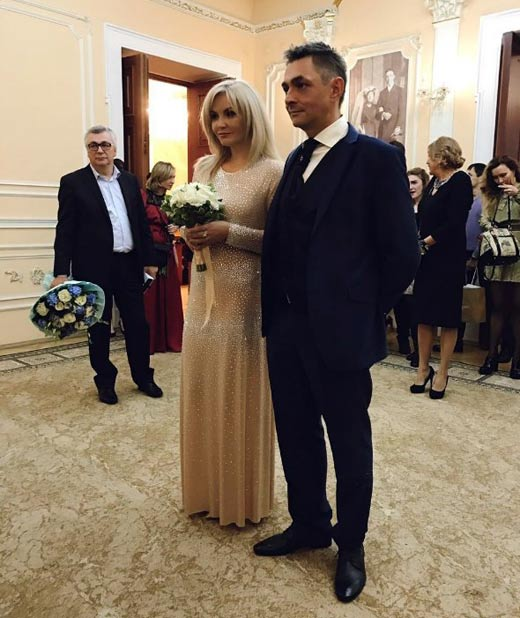 Василина Михайловская и муж Дмитрий Новокшонов