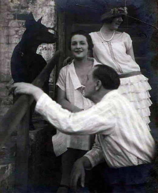 Василий Качалов и жена Нина Литовцева